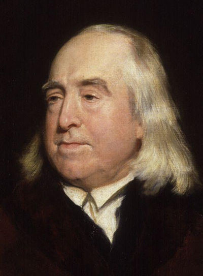 Jeremy Bentham, British philosopher, jurist, and social reformer