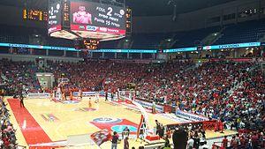 Pais Arena Jerusalem - Image: Jerusalem Arena in a Playoff Match 2