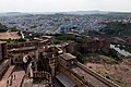 Jodhpur-Mehrangarh Fort-06-Blue city-20131011.jpg