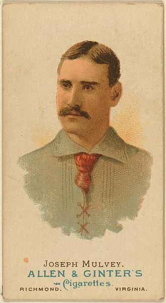 Joe Mulvey - Baseball Card of Joe Mulvey, 1897
