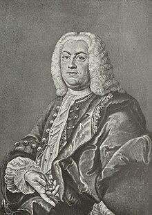 Johann Christoph Gottsched, Gemälde von Anna Maria Werner (Quelle: Wikimedia)