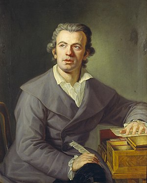 Johann Gottlieb Naumann - Naumann in 1780, by his brother Friedrich Gotthard Naumann