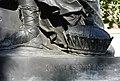 Johann Martin Fischer, Namenszug an der Skulptur DER ACKERBAU.jpg