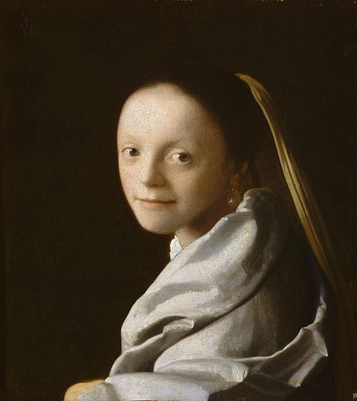Johannes Vermeer - Portrait of a Young Woman - WGA24672