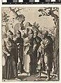 Johannes de Doper spreekt met vier mannen Het leven van Johannes de Doper (serietitel), RP-P-1980-116.jpg