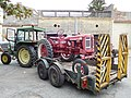 John Deere 2030 with IH tractor on trailer (3).jpg