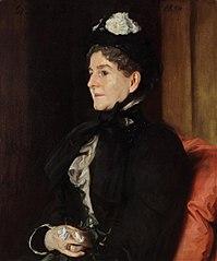 Portrait of Mrs. Alexander H. Bullock