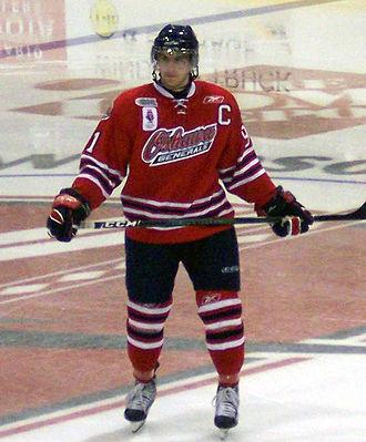 John Tavares (ice hockey) - Tavares with Oshawa in 2008