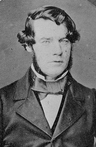 John Williamson (New Zealand politician) - John Williamson in 1860