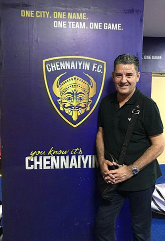 Chennaiyin FC - John Gregory led the team to ISL title in his first season