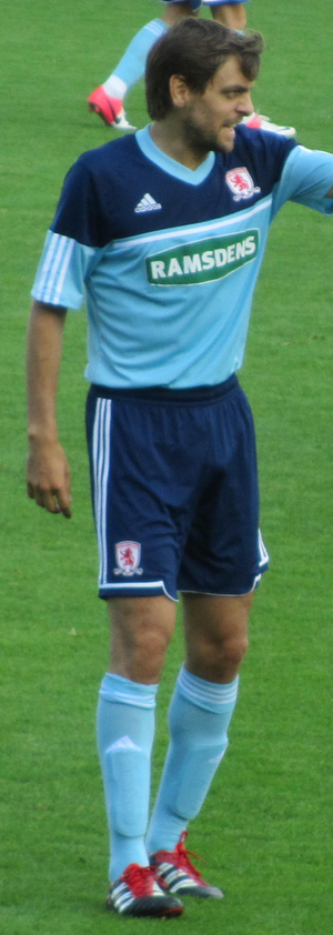 Jonathan Woodgate - Woodgate playing for Middlesbrough in 2012