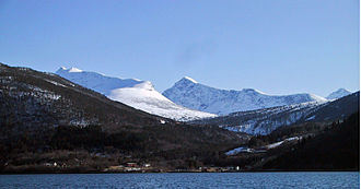 Sunndal - View of the Jordalsgrenda area