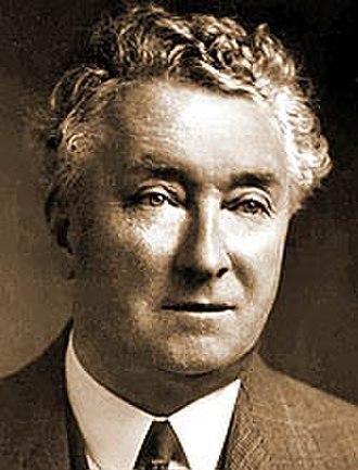 Tasmanian state election, 1922 - Image: Joseph Lyons 2