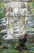Joseph Smith first vision stained glass