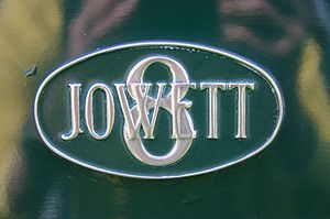 Jowett Cars Eight badge Jowett Eight badge.jpg