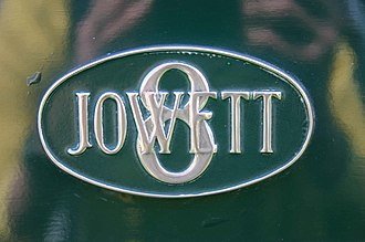 Bradford - Jowett Cars Eight badge