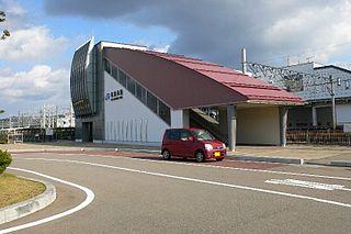 Higashi-Kanazawa Station Railway station in Kanazawa, Ishikawa Prefecture, Japan