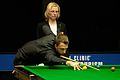 Judd Trump and Maike Kesseler at Snooker German Masters (DerHexer) 2015-02-04 01.jpg