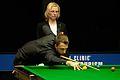 Judd Trump and Maike Kesseler at Snooker German Masters (DerHexer) 2015-02-04 01.jpg