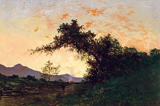 Marin Sunset in Back of Petaluma