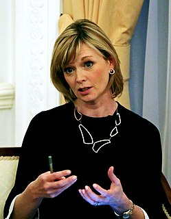 Julie Etchingham British journalist