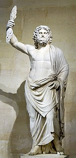 Zeus Ruler of the gods in Greek mythology