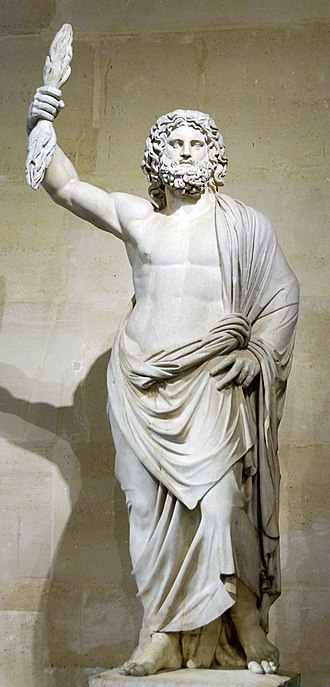 Zeus - Zeus de Smyrne, discovered in Smyrna in 1680