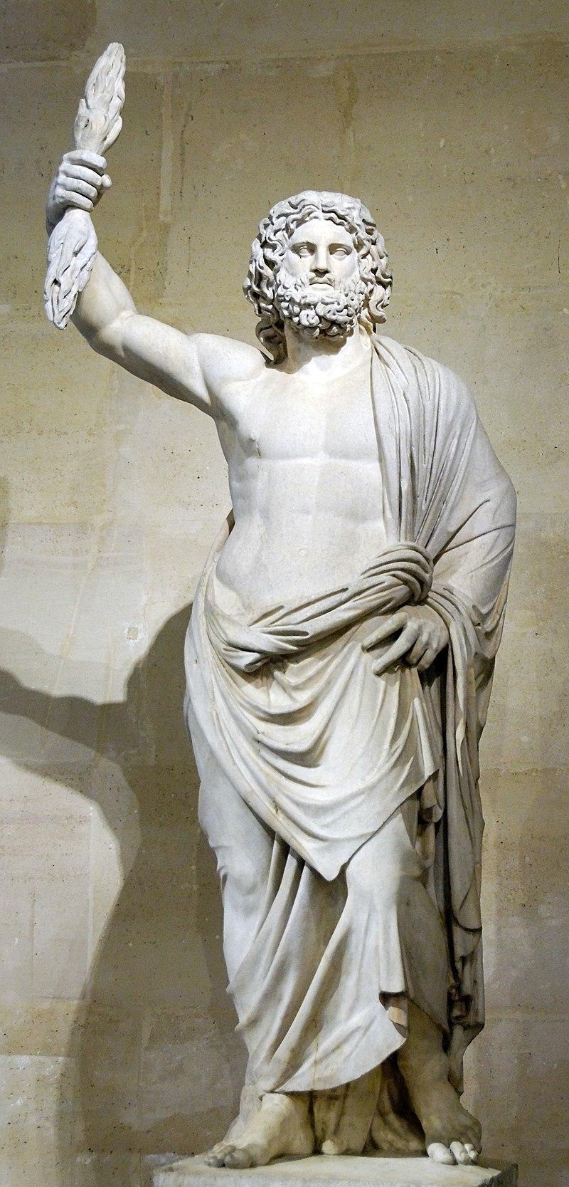 مجسمهی زئوس کشف شده در سمورنا