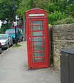 K6 Phone Box, Tom Lane, Fulwood Road.jpg