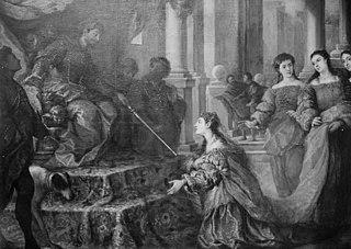 Esther Kneeling before Ahasverus