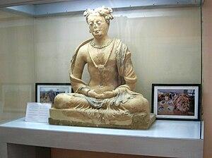 Hinduism in Afghanistan - Kabul Museum statue