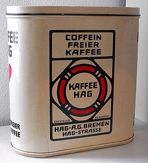 Café HAG - Coffee tin