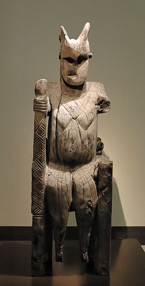 The Man Who Would Be King - Image: Kafir Bashgali sculpture Inv 284