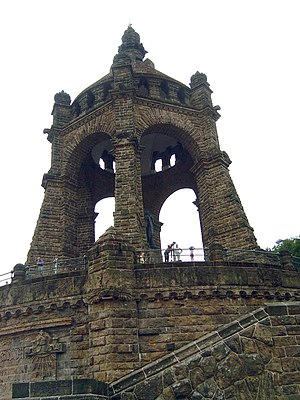 Porta Westfalica - Monument of Kaiser Wilhelm I