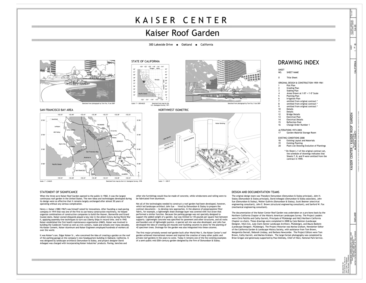 File Kaiser Center Kaiser Roof Garden Title Sheet