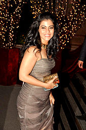 Actress Kajol at a party