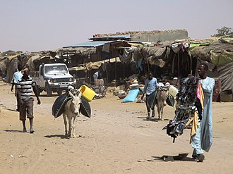 Abéché - The supply center of Kalait, located on the road between Abéché and Fada.
