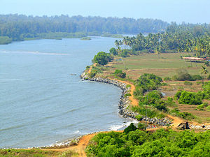 Kali River (Karnataka) - A view of Kali River