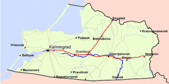 "Amber Coast - The Sambia Peninsula, Bay of Gdańsk and Vistula Lagoon; the area of the ""Amber Coast"")"