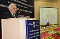 Kapil Sibal addressing at the Launch of portal of Bharat Broadband Network Ltd. and the signing ceremony of MoU with 13 State Governments, in New Delhi on October 26, 2012.jpg