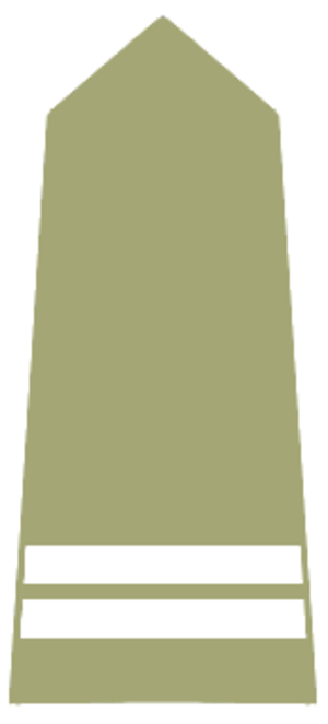 Corporal - Shoulder strap of a kapral in the Polish Army.