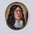 Karl X Gustav (1622-1660), miniatyrporträtt i emalj av Nicolas Vallari - Nationalmuseum.png