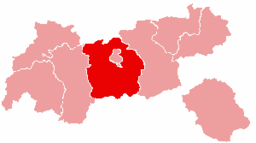 Bezirk Innsbruck-Land location map
