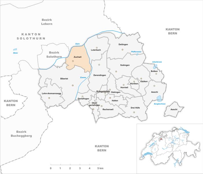 Datei:Karte Gemeinde Zuchwil 2013.png