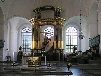 Katarina Church - The new altar