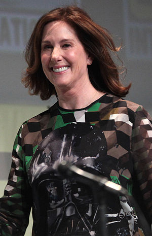 Kathleen Kennedy (producer) - Kathleen Kennedy at the 2015 San Diego Comic-Con International.