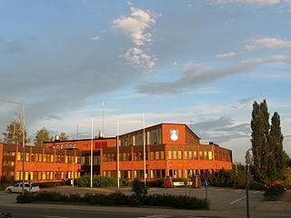 Alavus Town in Southern Ostrobothnia, Finland