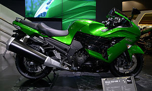 Kawasaki Ninja ZX-14 - Ninja ZX-14R at the 2011 Tokyo Motor Show