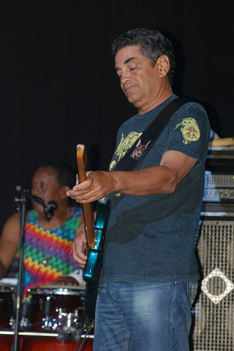 Kenny Gradney - Gradney performing with Little Feat, 2008