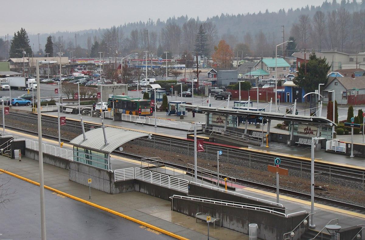 Kent Station Sound Transit Wikipedia